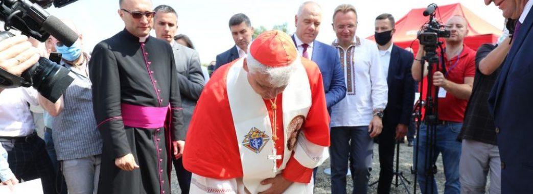 На Львівщину завітав кардинал Ватикану Конрад Краєвський