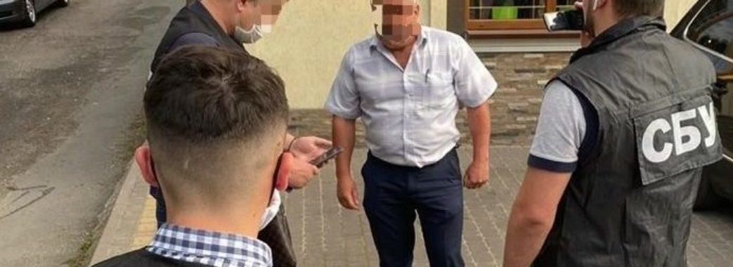 Керівника філії «Львівського облавтодору» затримали на хабарі