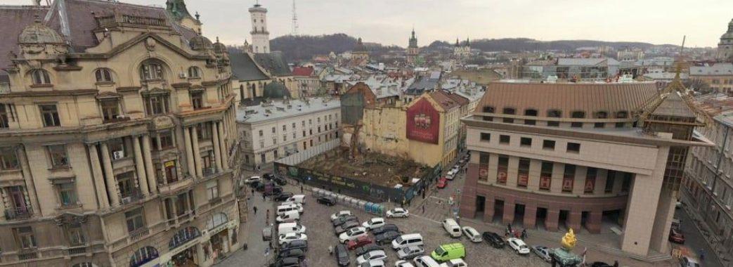 У центрі Львова замість руїн облаштують музей