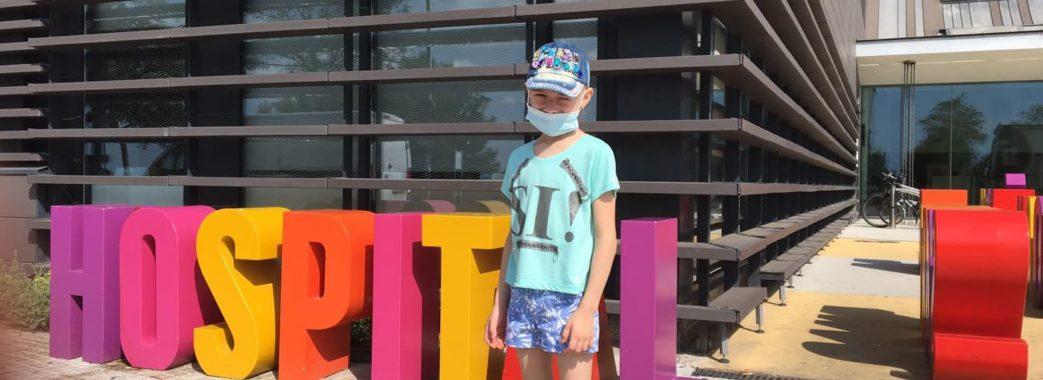 Недуга проявилася після вітрянки: 6-річній львів'янці для боротьби з раком потрібно 45 тисяч євро