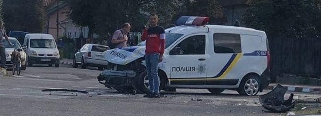 Стрийський поліцейський опинився у лікарні після гонитви за порушником