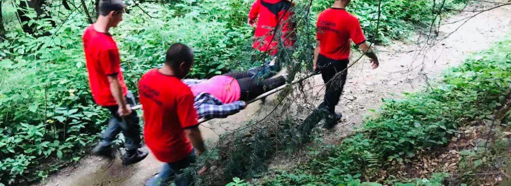 Самбірчанка травмувалась у горах на Сколівщині