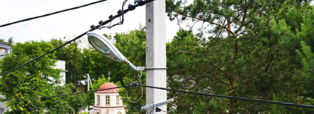 Обслуговувати мережу вуличного освітлення у Брюховичах буде енергосервісна компанія