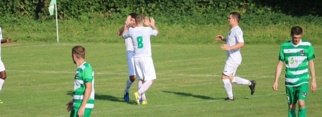 Брюховецька футбольна команда «Легінь» розгромила суперника