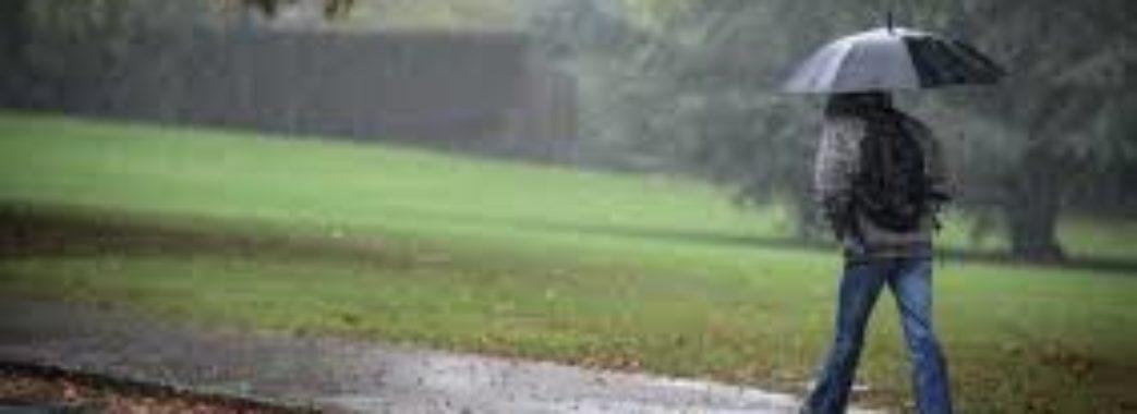 У вихідні на Львівщині прогнозують дощі та  похолодання
