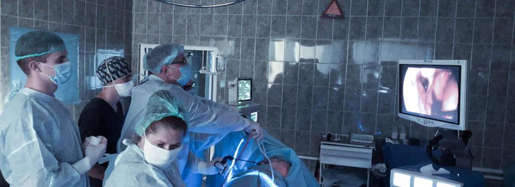 Мешканці Яворівщини у львівській лікарні видалили частину легені з пухлиною