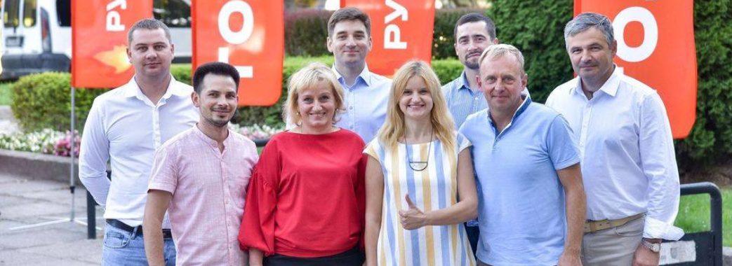 Ярослав Рущишин представив команду «Голосу» Залізничного району