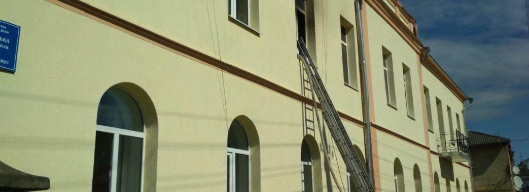 Запалив сірник та кинув на віник: назвали причину пожежі у школі-інтернаті на Старосамбірщині