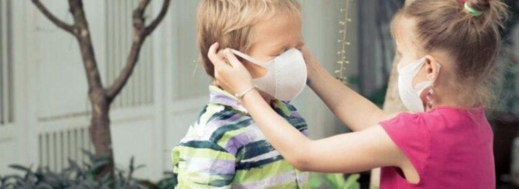 На Львівщині побільшало дітей, які хворіють на коронавірус