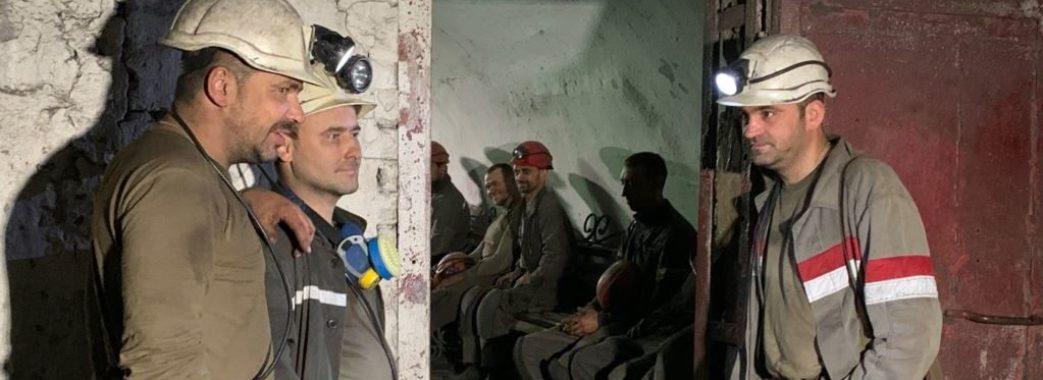 Гірники шахти «Надія» припинили страйк та піднялись на поверхню