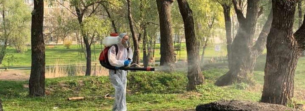 Львівські парки обробляють від кліщів: графік