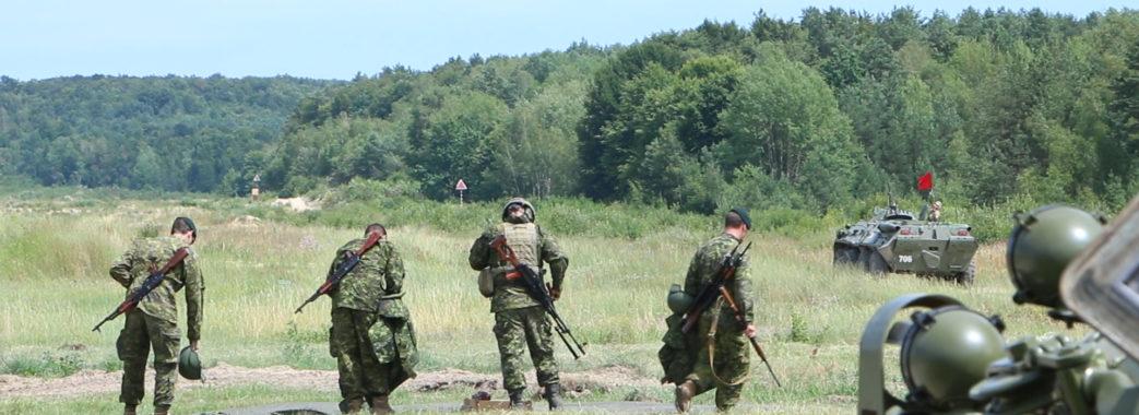 Чотири тисячі іноземних військових проходять навчання на Яворівському полігоні