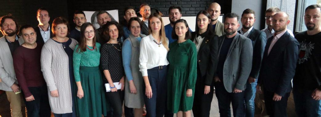 Кандидатка на посаду голови Львівської ОТГ Юлія Гвоздович представила команду