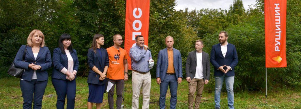Ярослав Рущишин представив команди «Голосу» у Галицькому та Шевченківському районах