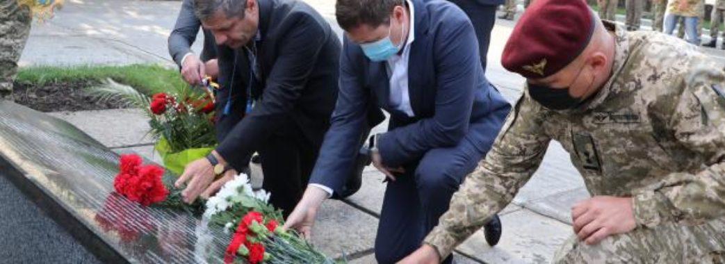 На Львівщині вшанували полеглих на Сході України десантників