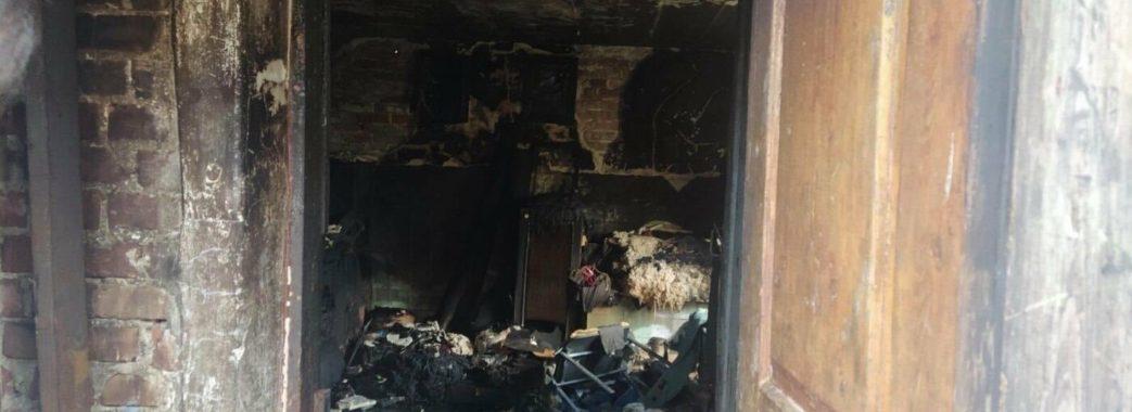 На Пустомитівщині  згорів 64-річний чоловік