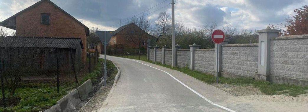 На Старосамбірщині до майбутнього пункту пропуску відремонтували майже 13 кілометрів доріг