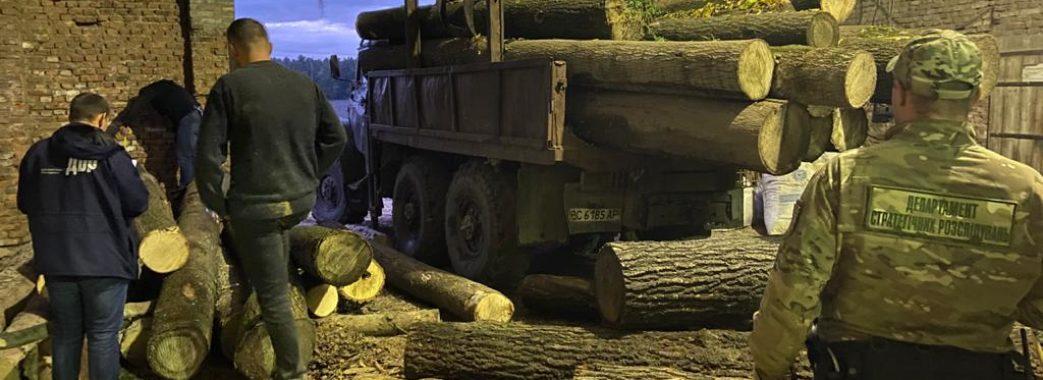 На Сокальщині викрили «чорних лісорубів»