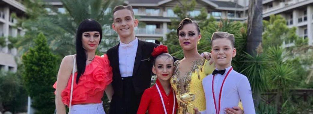 Юні танцюристи зі Стрия перемогли на міжнародних змаганнях