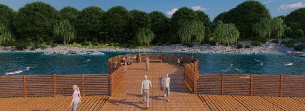 У Стрию запропонували проєкт реконструкції набережної (Відео)