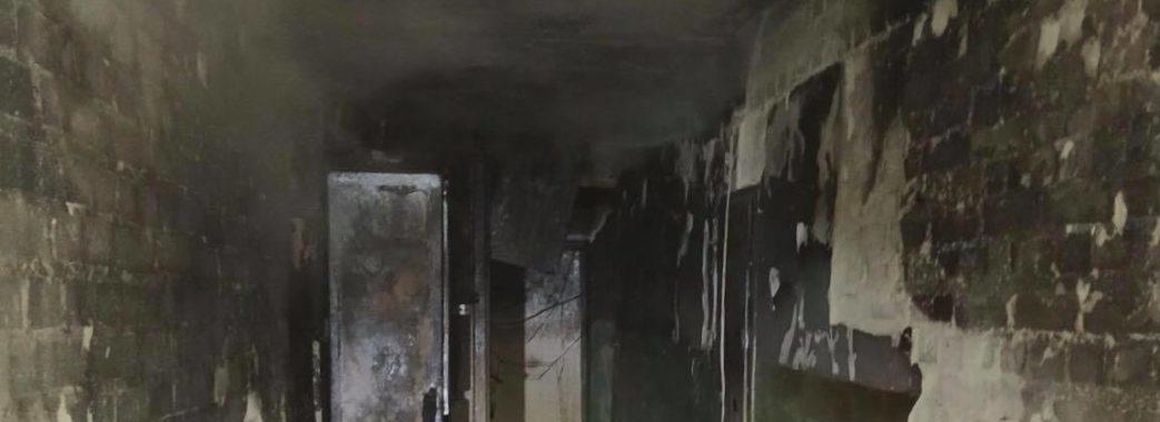 У Львові під час нічної пожежі двоє малюків отруїлися димом