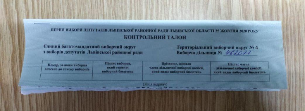 Видача бюлетенів без паспортів та голосування на підвіконнику: як проходить голосування на Львівщині