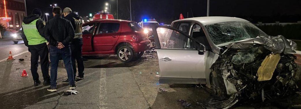 Аварія поблизу Львова забрала життя трьох людей
