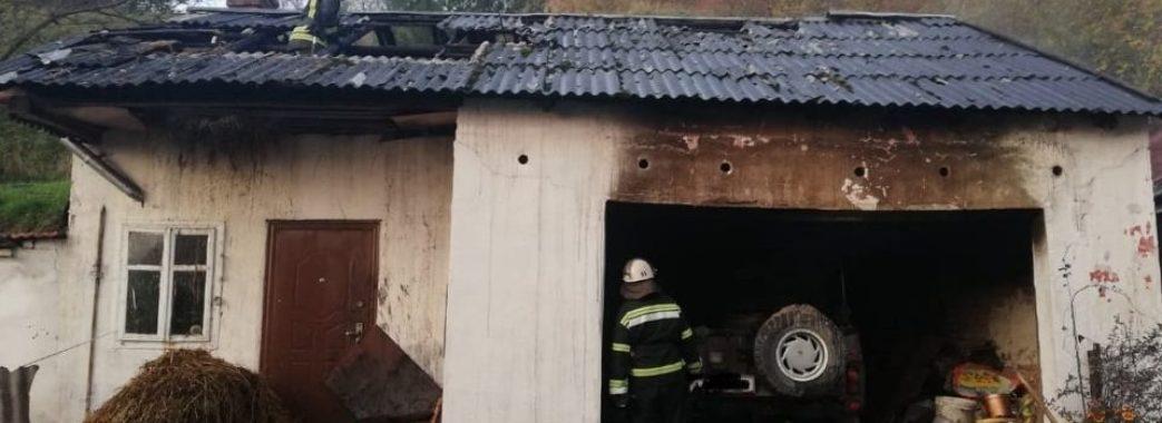 На Пустомитівщині у гаражі живцем згорів чоловік