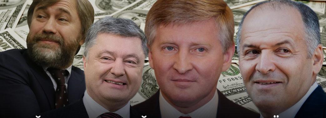 Сотня найбагатших українців: до рейтингу потрапили 9 мешканців Львівщини