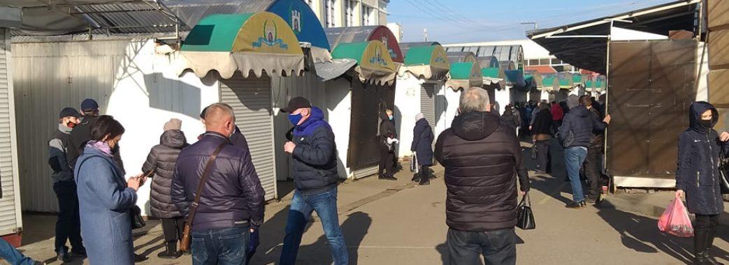 Карантин вихідного дня: яка ситуація на ринках Львова