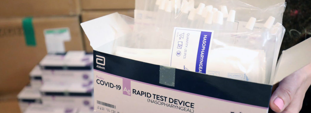 Вчителів та лікарів перевірять на антиген до коронавірусу: Львів закупив 10 тисяч експрес-тестів