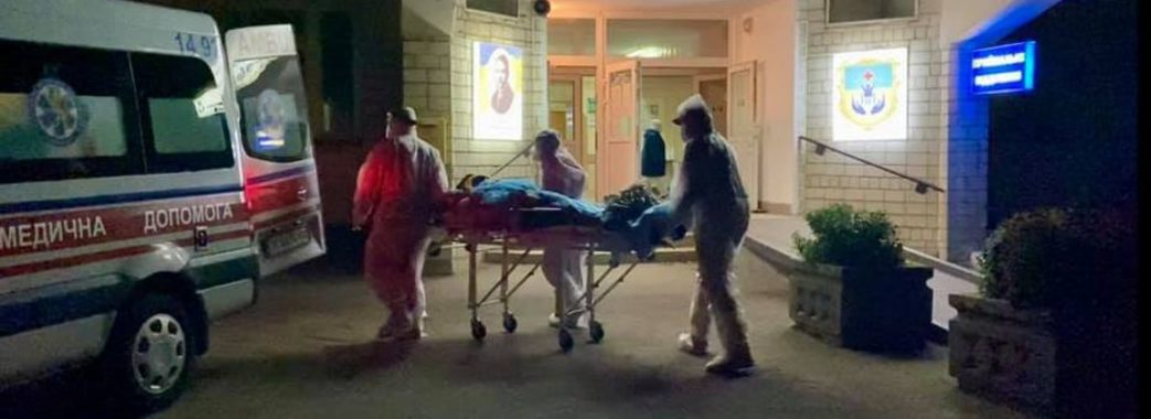 У винниківському госпіталі стався вибух на заправці кисню
