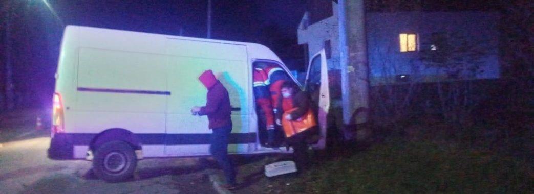 В'їхав у бетонну електроопору: в Бориславі розбився на смерть місцевий підприємець