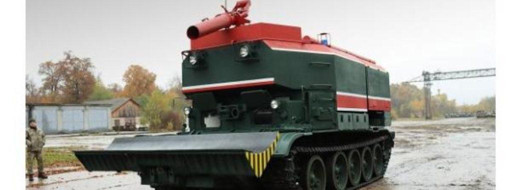 Львівський завод модернізував найбільшу за часи незалежності партію пожежних танків