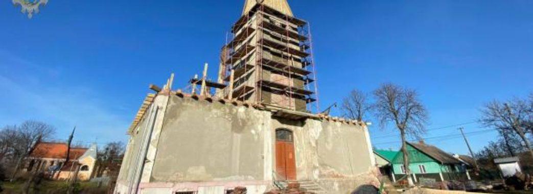 Унікальну старовинну ратушу відреставрують на Старосамбірщині