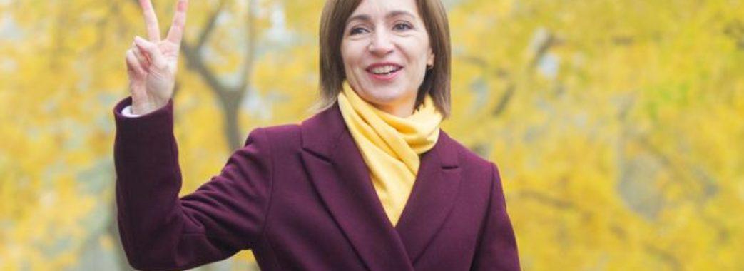 На президентських виборах в Молдові перемогла Майя Санду