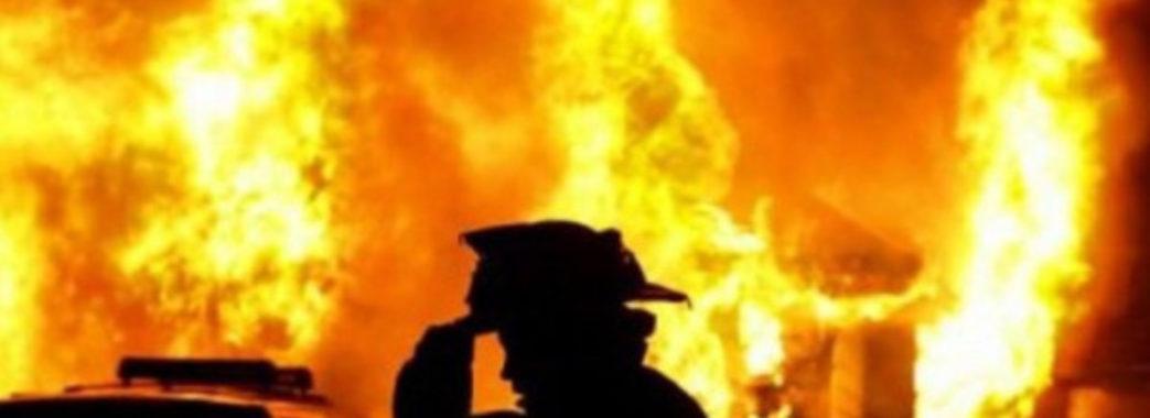 «Будинок повністю згорів»: на Турківщині вночі трапилась пожежа
