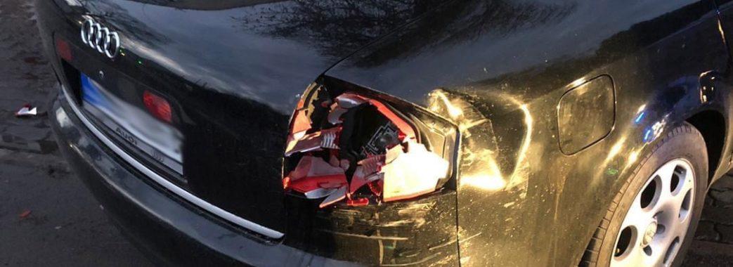 17-річний п'яний червоноградець без водійських прав вчинив одразу кілька аварій у Сокалі