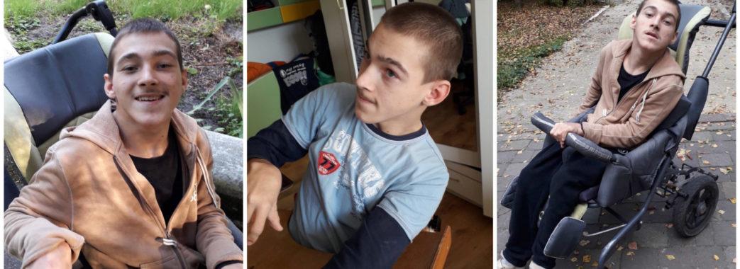 «Стукаю в усі двері»: стебничанка просить допомогти зібрати кошти на реабілітацію хворого на ДЦП сина