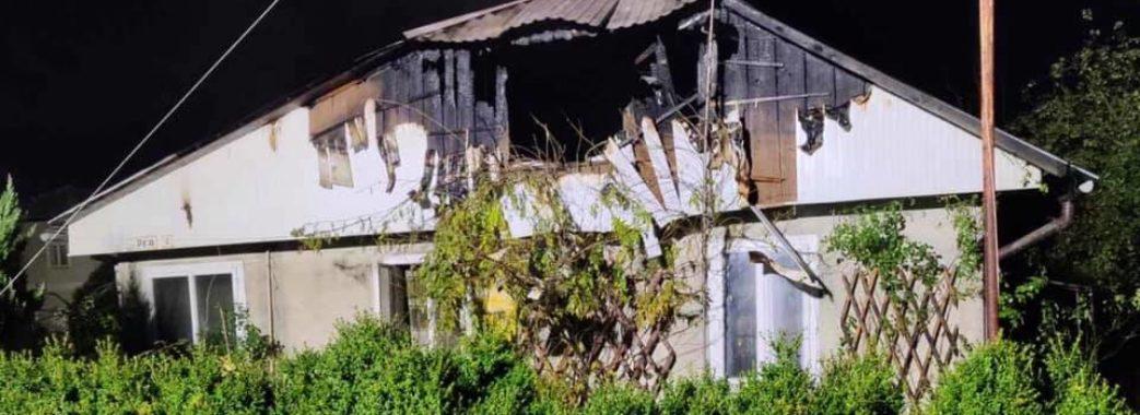 Знайшли мертвою в ліжку: на Жидачівщині під час пожежі загинула жінка