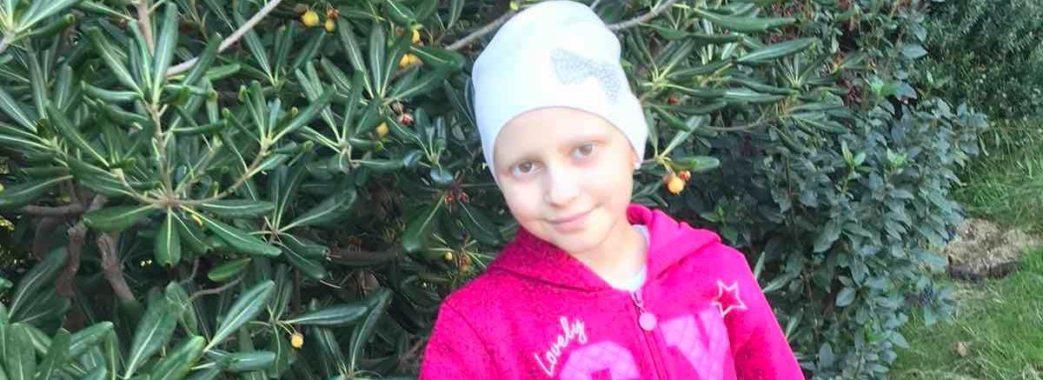 «Шанси, що дівчинка видужає, дуже високі»: для порятунку Вікторії Васильків з Старосамбірщини потрібні ще 15 тисяч євро
