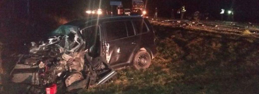 В аварії на Стрийщині загинув 20-річний хлопець, ще двоє людей травмовані