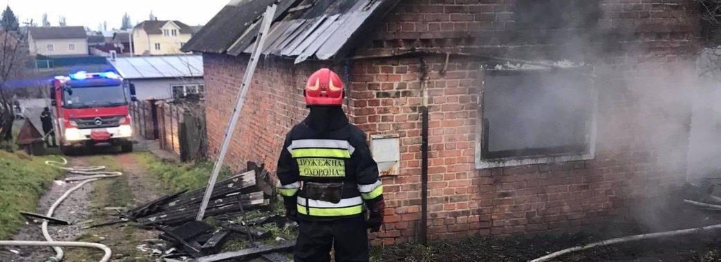 На Сокальщині через пожежу не стало 49-річного чоловіка