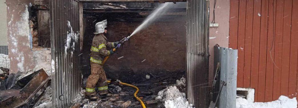 На Жидачівщині вчора вщент згорів автомобіль