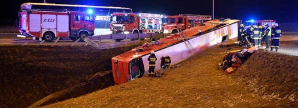 У смертельній аварії в Польщі загинуло 5 українців