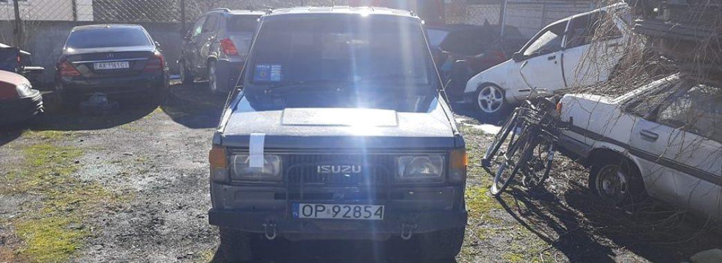 Сколівські поліцейські з недійсними посвідченнями забрали автомобіль у місцевого активіста (Відео)