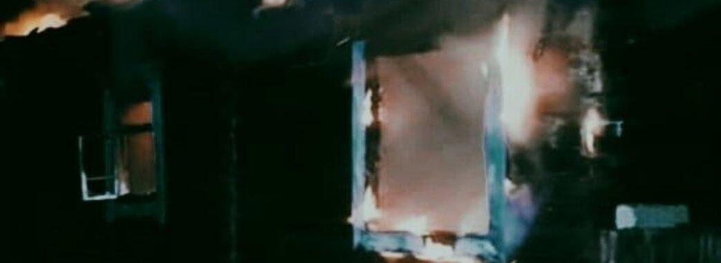 Дерев'яна хата спопеліла за лічені хвилини: на Самбірщині у вогні загинув 35-річний чоловік