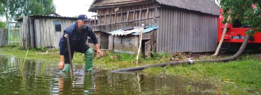 Рятувальники попереджають про можливі підтоплення на Червоноградщині