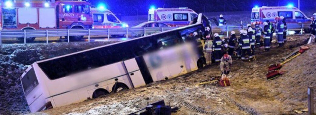 У Польщі ще одна смертельна аварія за участі українського автобуса