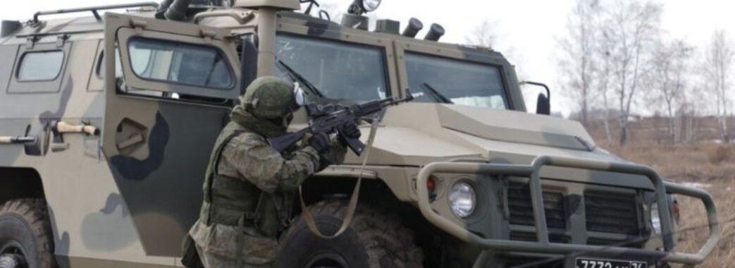 Біля кордону України Росія розгорнула великий військовий табір